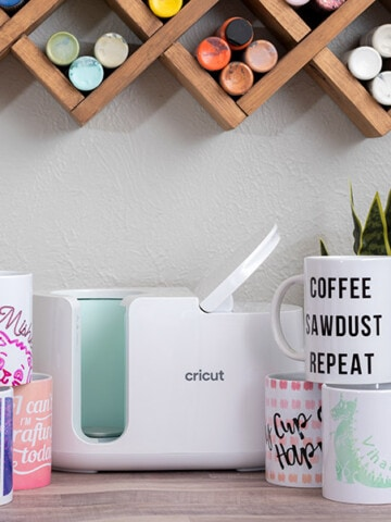 The Cricut MugPress is a brand new product from Cricut that helps make easy pro-quality custom mugs for any occasion! I have all the details about its features, what it can do and how to use it!
