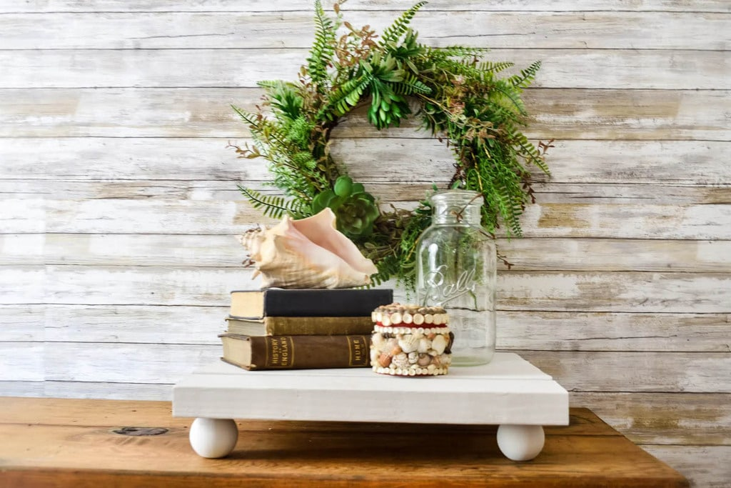 Bajot table as a centerpiece made from 2x4s
