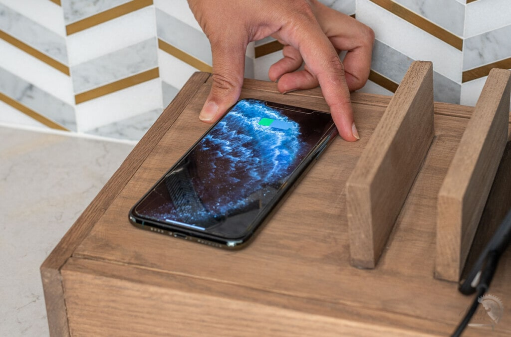 DIY multi device charging station with wireless charger